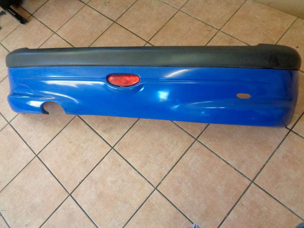 Peugeot 206 Bj:2000 Stoßstange Hinten 9628638277 Blau Farbcode : EHJ