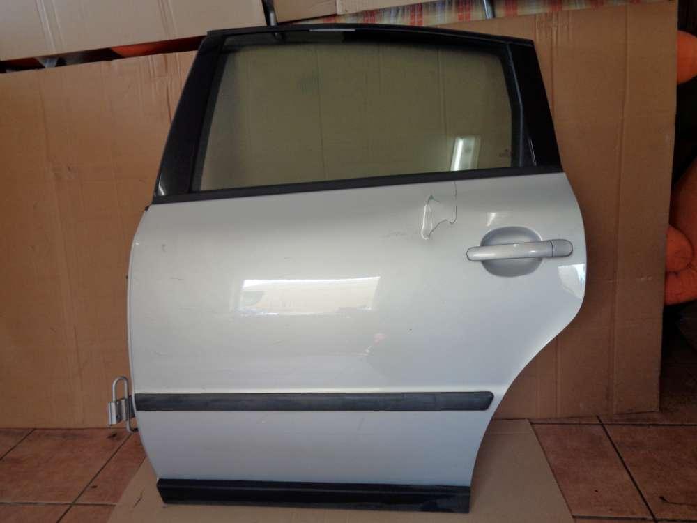 VW Passat 3B Limousine Bj:2000 Tür Hinten Links Silber Farbcode LB7Z: