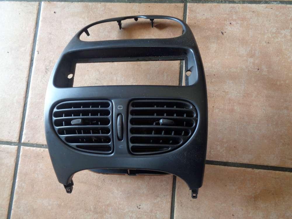 Peugeot 206 Bj:2000 Mittelkonsole Lüftungsdüsen 9634095377