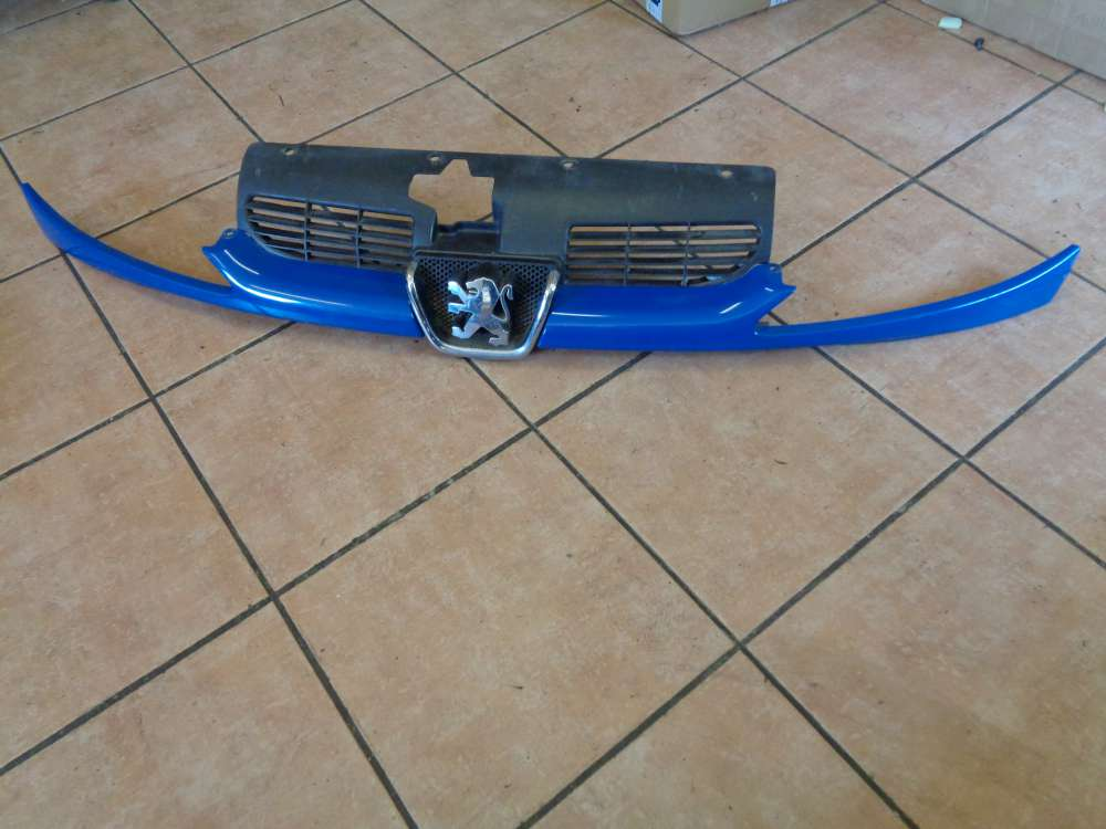 Peugeot 206 Bj:2000 Kühlergrill Grill Frontgrill 9628934280 Blau Farbcode : EHJ