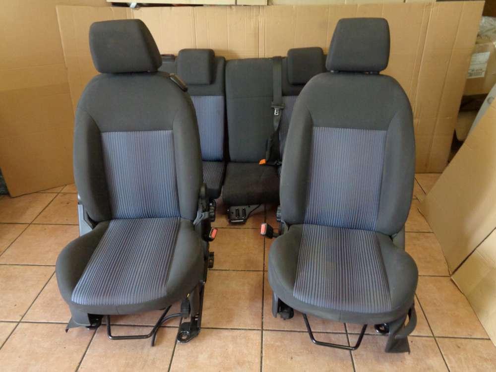 Ford Fusion Sitze Komplett Fahrersitz Beifahrersitz Rücksitzbank Stoff