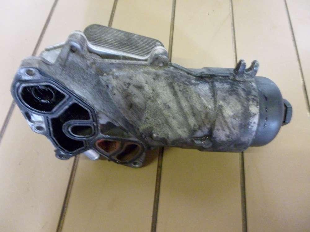 Ölfilter - Kühler Ölfiltet  gehäuse Ford Focus Bj 2006 1.6 TDCi 66 kW .Nr: 47434