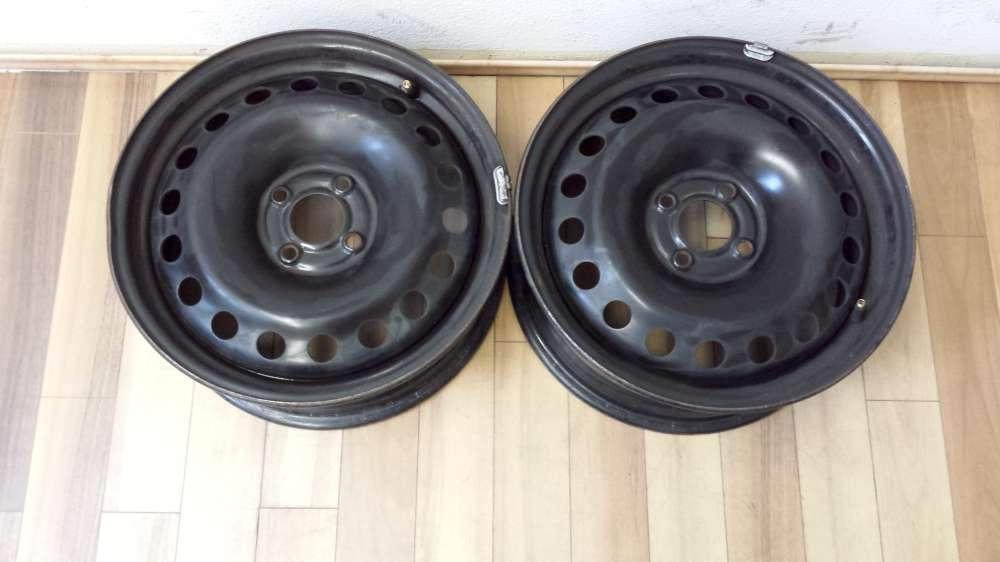 2 x Stahlfelgen für Renault Megane  6.5Jx16H2  ET:49  KBA 44544