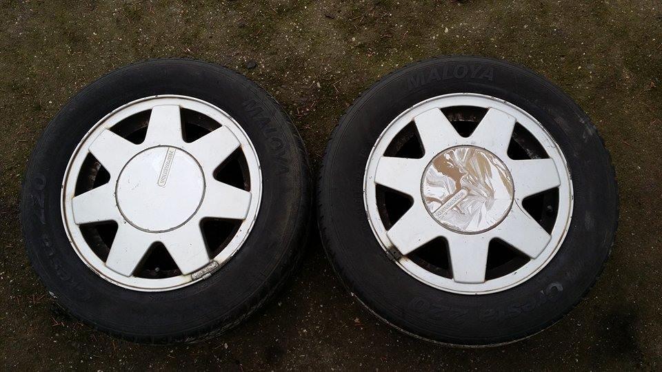 2 x Original Alufelgen für VW Golf  Passat (Kombi,Variant) 6Jx14H2 ET38  195/65 R14