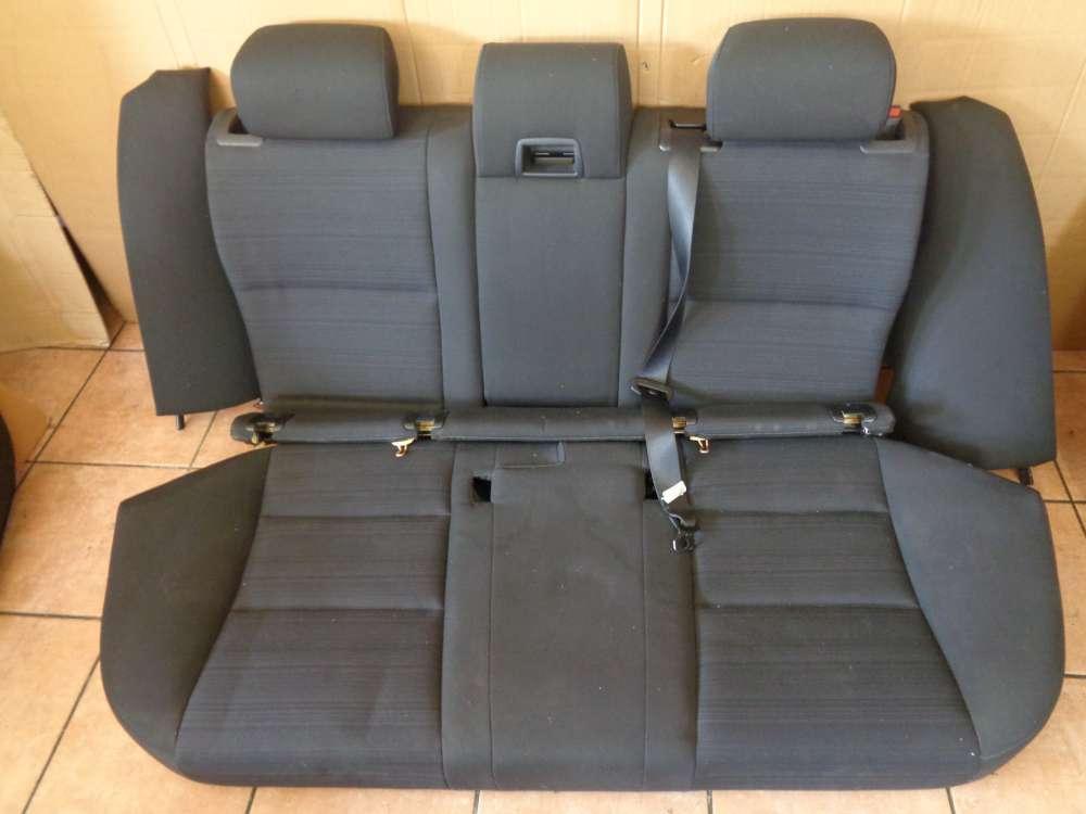 BMW 5er E61 Kombi Ab:2007- 2010 Sitz Rückbank Rücksitz Komplett grau Stoff