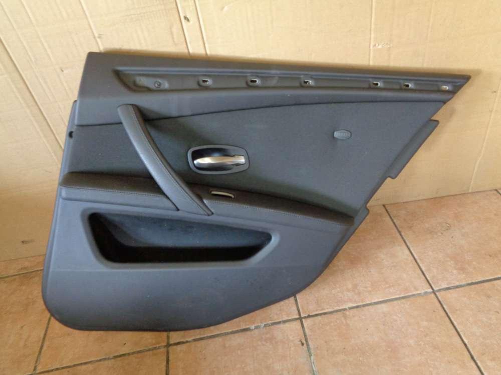 BMW 5er E61 E60 Kombi Ab:2007- 2010 Türverkleidung Teilleder Hinten Rechts E1369452