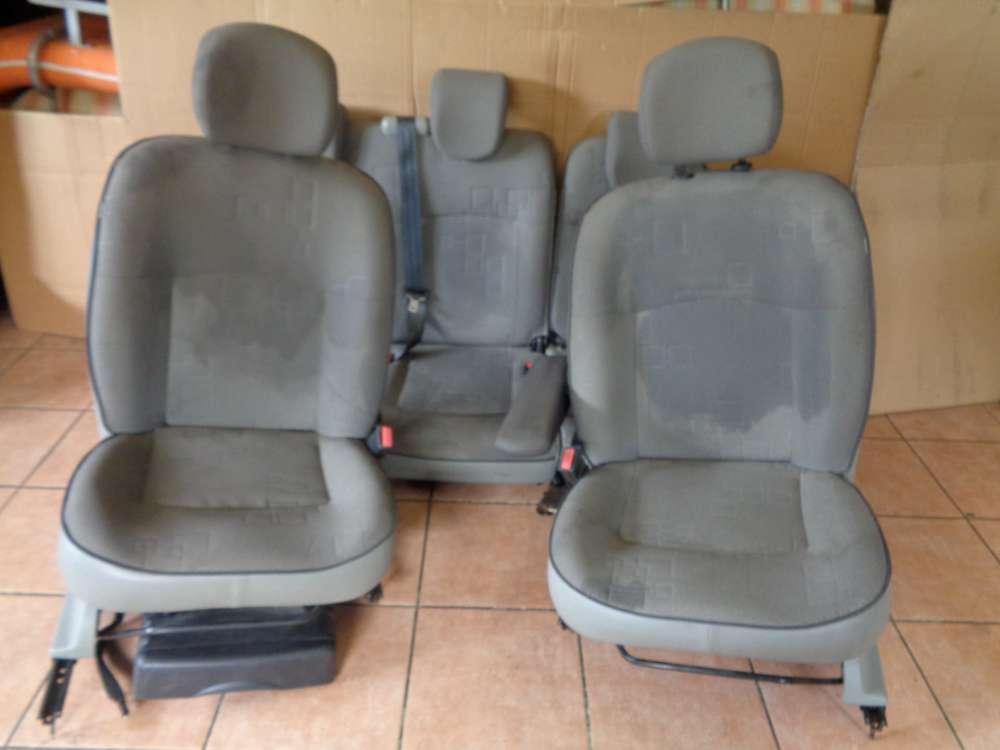 Renault Kangoo KC Sitze Innenausstattung Komplett Stoff
