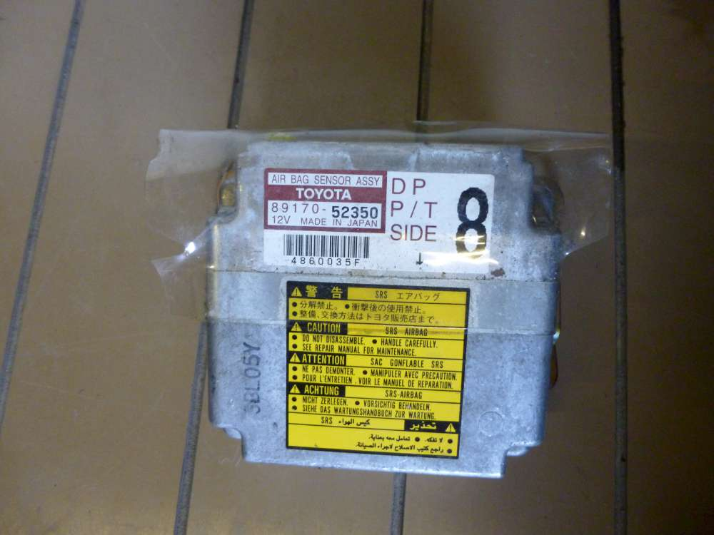 Toyota Yaris Verso  Airbagsteuergerät Airbag Steuergerät 89170-52350