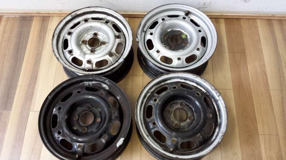4 x Stahlfelgen für VW Passat und Audi 6Jx14H2  Et:38  4Loch