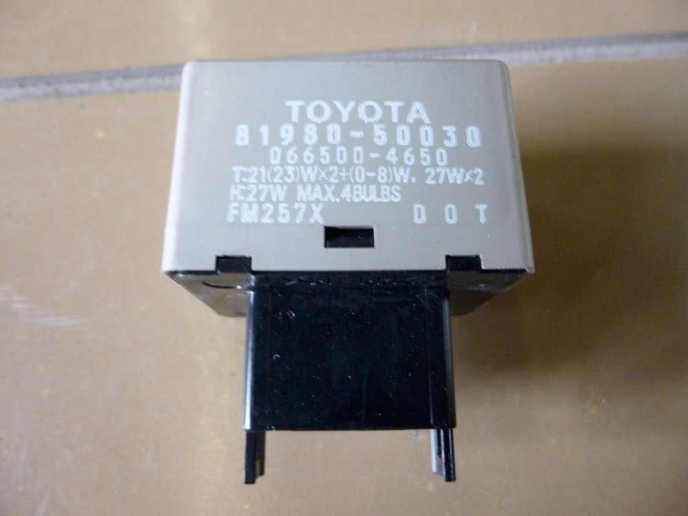 Toyota Yaris Verso  Relais 81980-50030