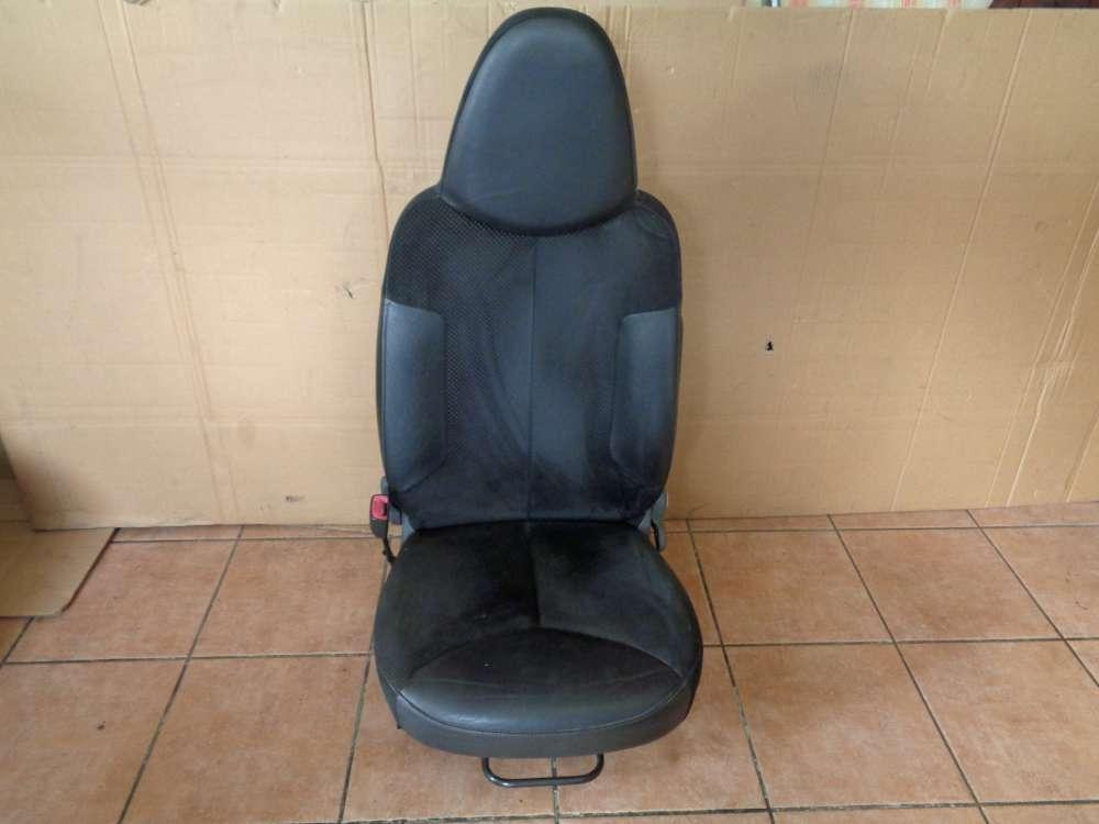 Peugeot 107 Bj:2009 Fahrersitz Sitz Vorne Links Teilleder