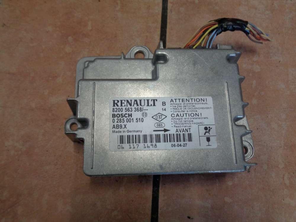 Renault Clio III Motorsteuergerät 8200563368 Bosch 0285001510