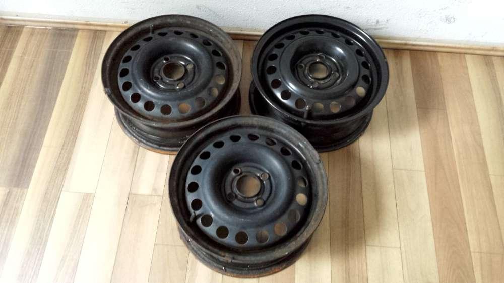 3 x Stahlfelgen für Opel Corsa B/Astra F   5,5Jx14 H2    ET:49    -     4 Loch