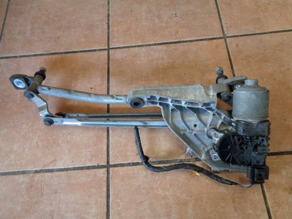 Ford Fiesta VI JA8 Bj:2010 Wischermotor mit halter Vorne 8A61-17B571AA  8A61-17500AD