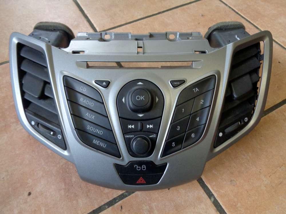Ford Fiesta VI JA8 Bj:2010 Mittelverkleidung 8A6118A802AGW 8A6T18K811AD