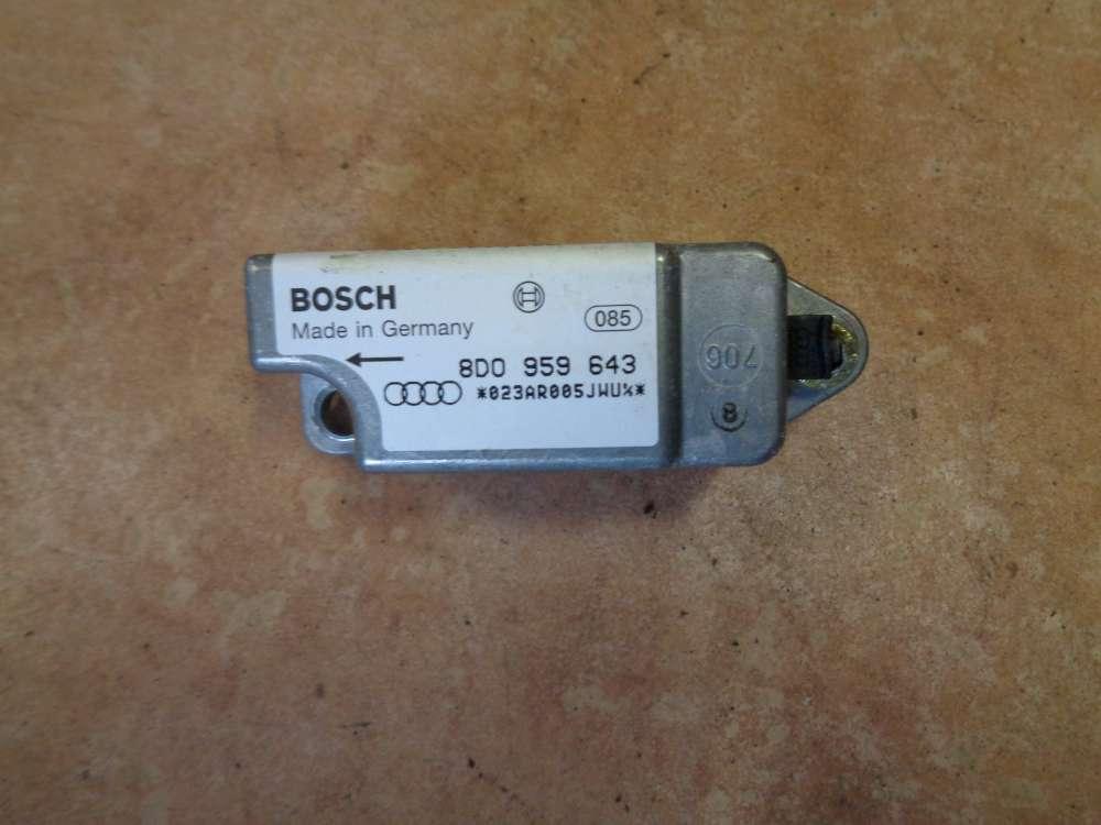 Audi A4 Airbag Crash sensor Seitenaufprallsensor 8D0959643  0285001212