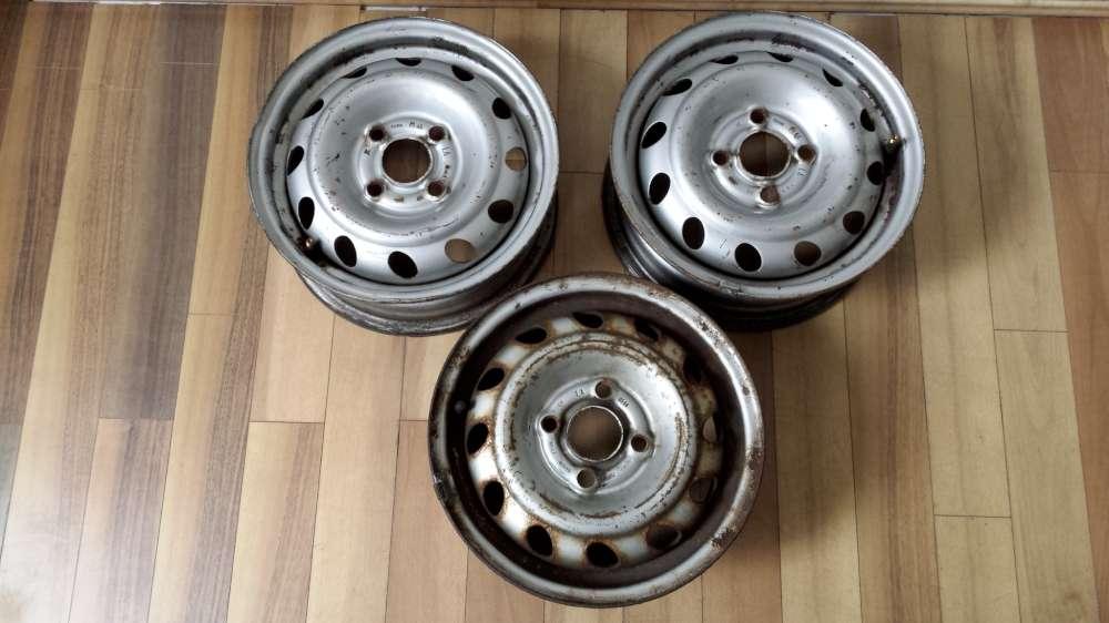 3 x Stahlfelgen für Opel Corsa B  5Jx13H2  ET:49  4Loch