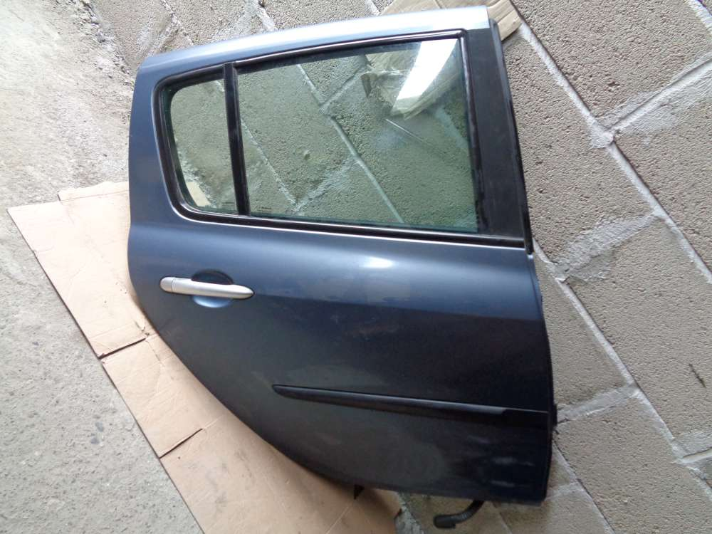 Renault Clio 3 Limousine Bj:2006 Tür Hinten Rechts grau