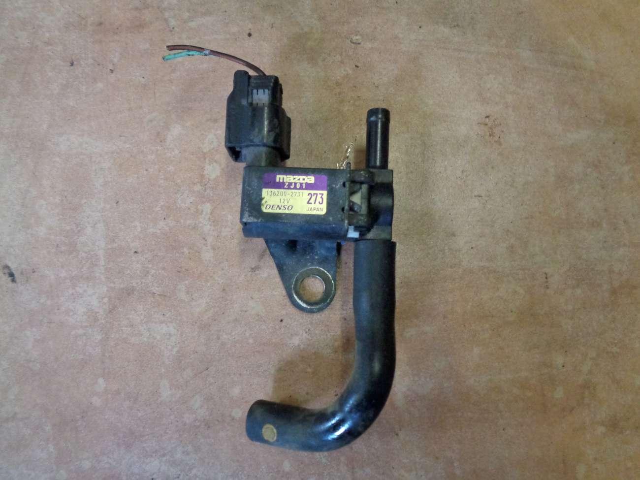 Mazda 3 BK 1.6i Bj:2004 Ventil Magnet Unterdruckventil 136200-2731