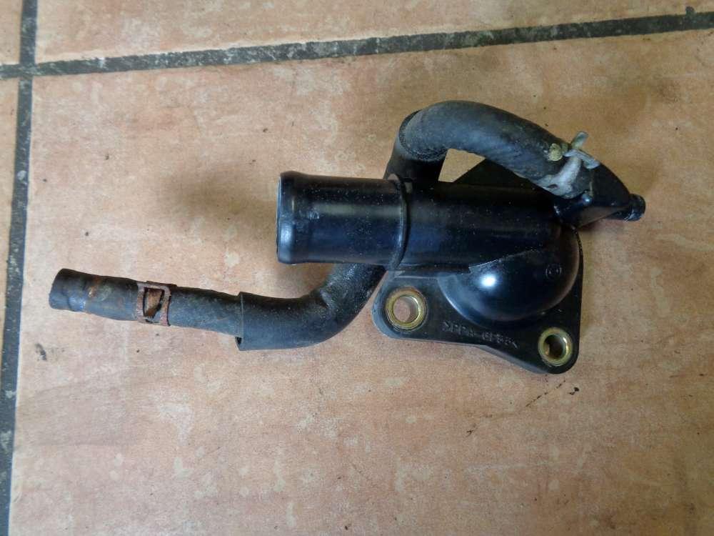 Mazda 3 BK 1.6i Bj:2004 Wasserstutzen Thermostat gehäuse