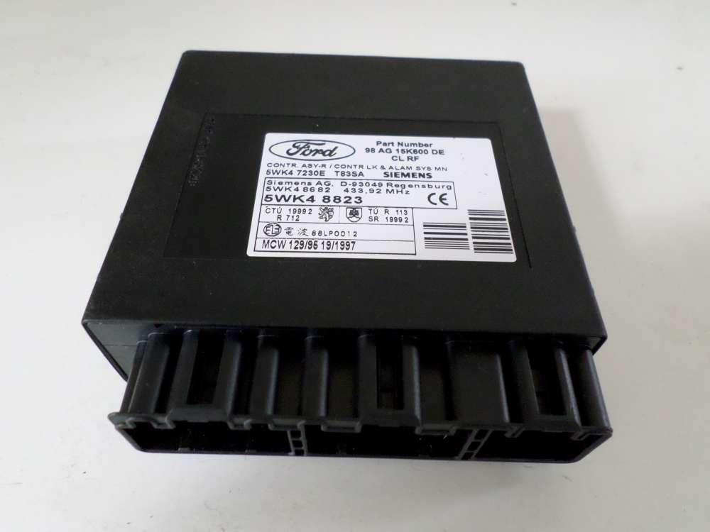 Ford Focus Bj.2001 Komfortsteuergerät Innenraumsteuergerät 5WK47230E / 98AG15K600DE / 5WK48823
