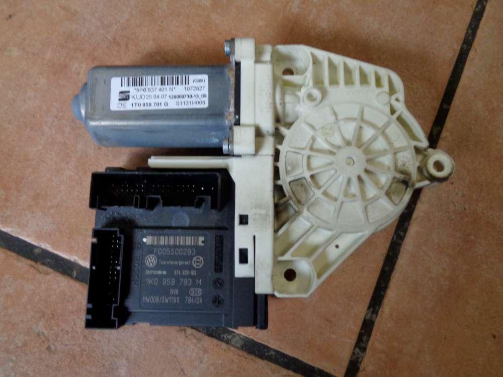 Seat Altea 5P Bj:2007 Tür Fensterhebermotor Vorne Links 1K837401M 1T0959701G