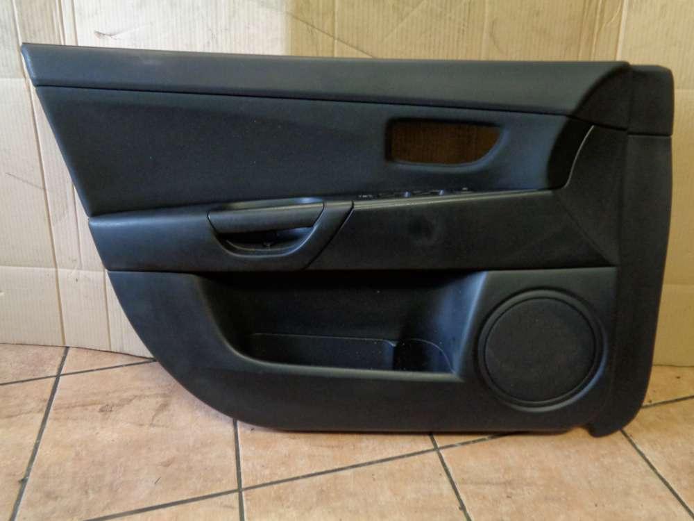 Mazda 3 BK Türverkleidung Türpappe Vorne Links