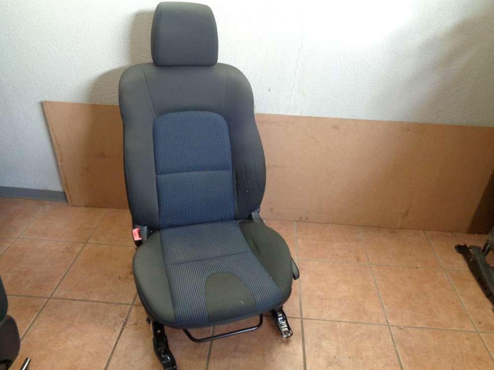 Mazda 3 BK Bj:2004 Sitze Fahrersitz mit Airbag Vorne Links Stoff