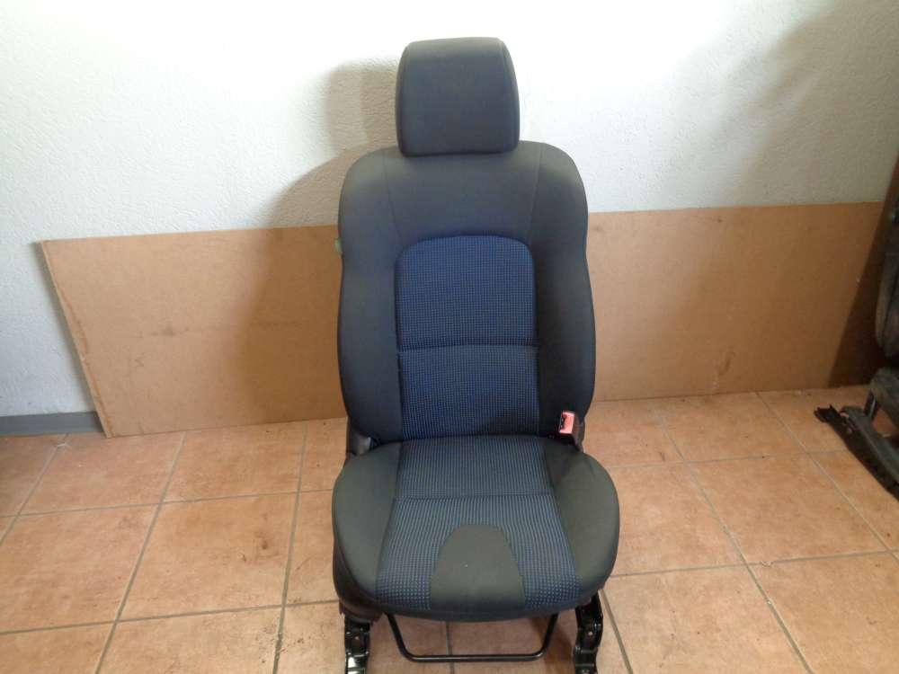 Mazda 3 BK Sitze Beifahrersitz mit Airbag Vorne Rechts Stoff