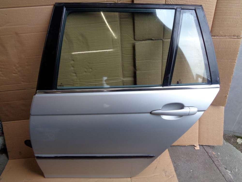 BMW 320i E46 Bj ab 98-2004 Kombi Tür Hinten Links silber Farbecod:354/7Titansilber Metallic