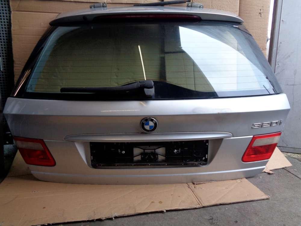 BMW  320i E46ab 98-2004 Kombi Heckklappe silber Farbecod:354/7Titansilber Metallic