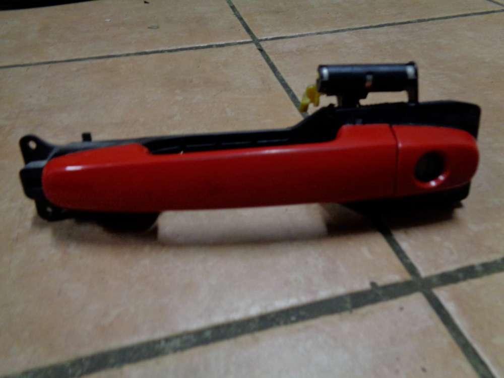 Daihatsu Sirion M3 Bj:2009 Außentürgriff Türgriff Vorne Links Rot Farbcode: R40