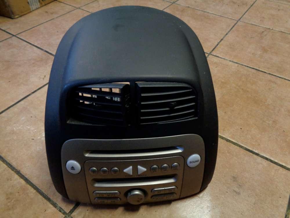 Daihatsu Sirion M3 Bj:2009 Radio CD Player mit Verkleidung Lüftungsdüse 86180-B1161
