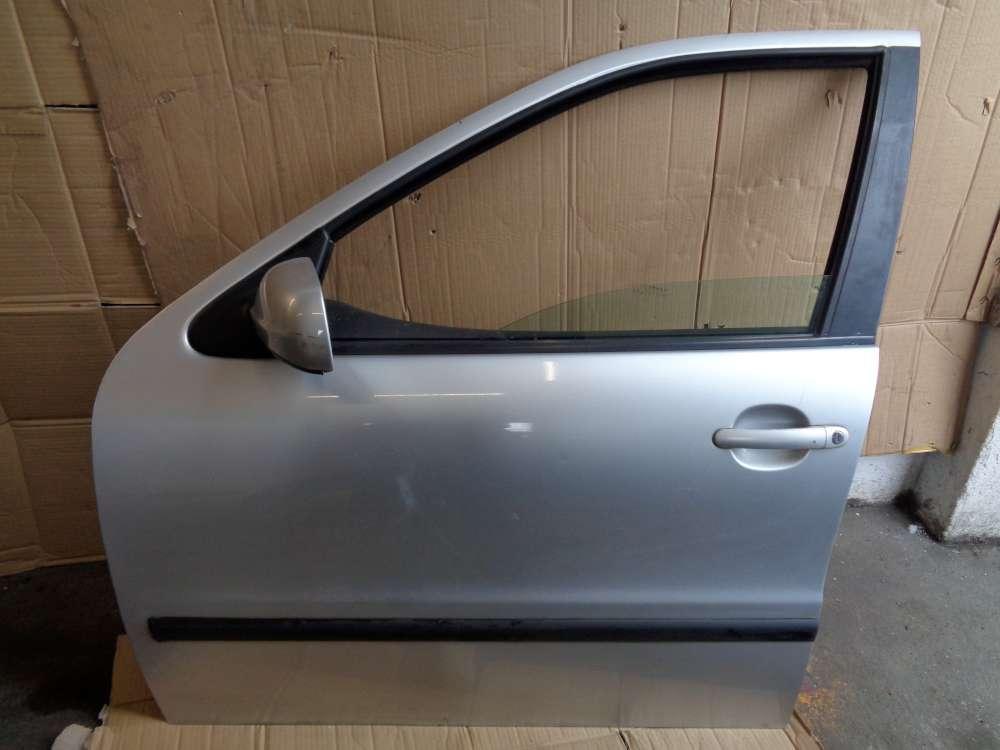 Seat Leon 1M Bj:2000 Tür Vorne Links Silber Farbcode: LS7N