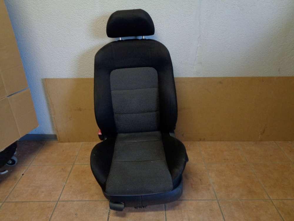 Seat Leon 1M Sitz Vorne Links Stoff