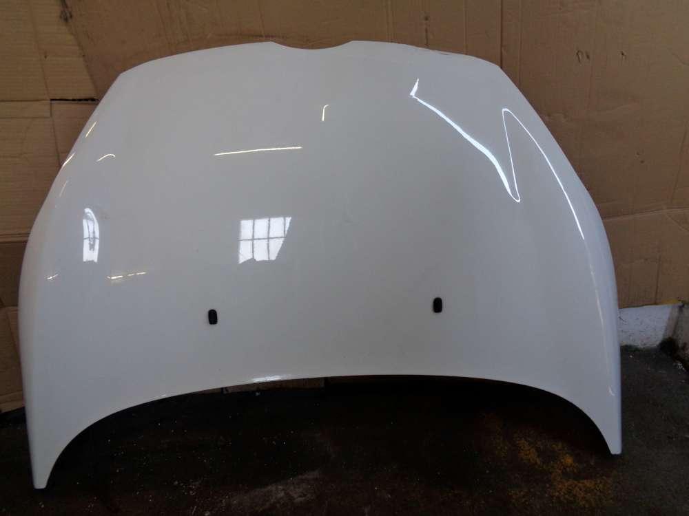 Ford Fiesta VI JA8 3Türer Bj:2010 Motorhaube Haube Weiß Code: H9