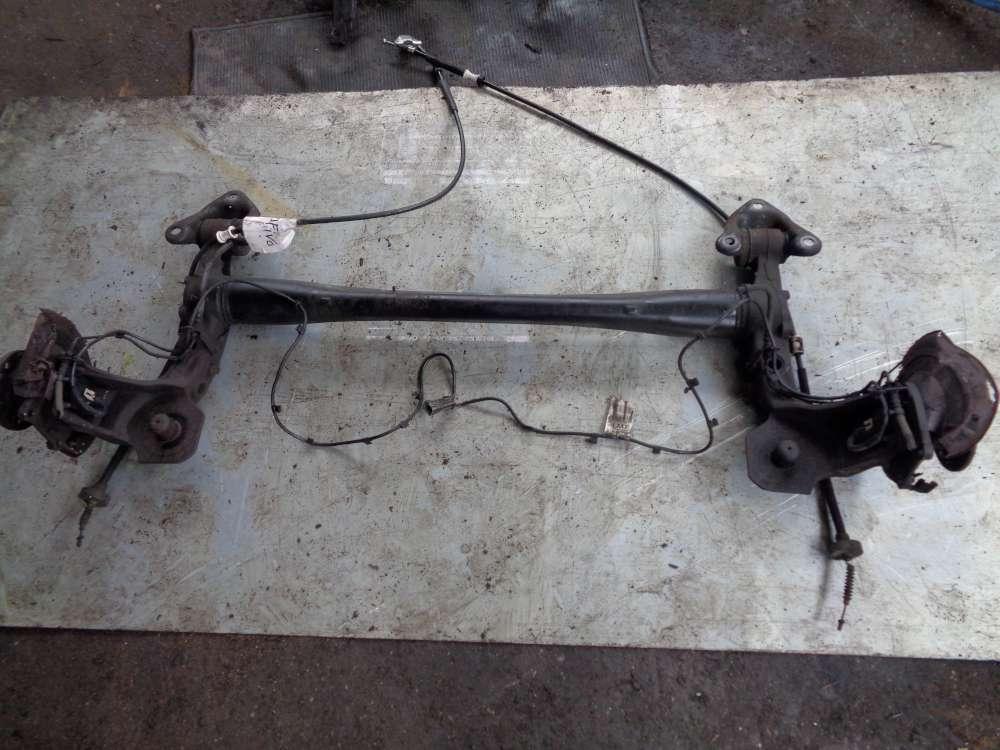 Opel Zafira A Hinterachse Achse Achsträger Hinten mit Kabelbaum ABS 90582204