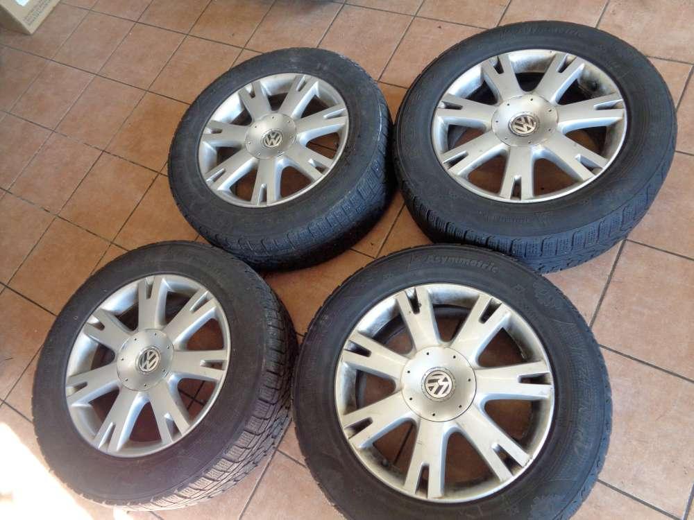 4 x Alufelgen mit Reifen für VW Touareg Winterreifen  255/55 R18 109H   7L6601  8Jx18H2  ET57