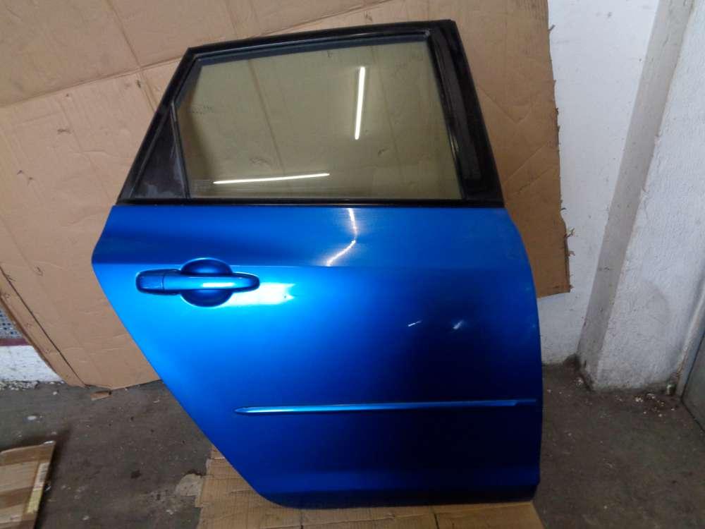 Mazda 3 BK Tür Hinten Rechts Blau : 27B