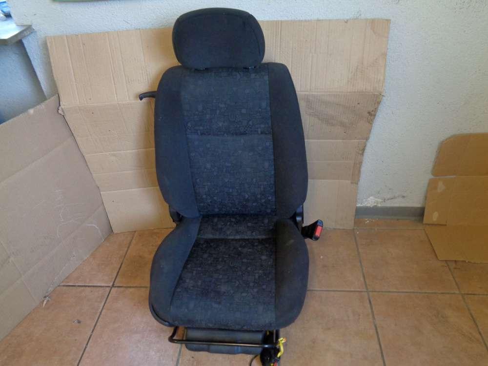 Opel Zafira A Bj:2001 Sitz Beifahrersitz Vorne Rechts Stoff Schwarz