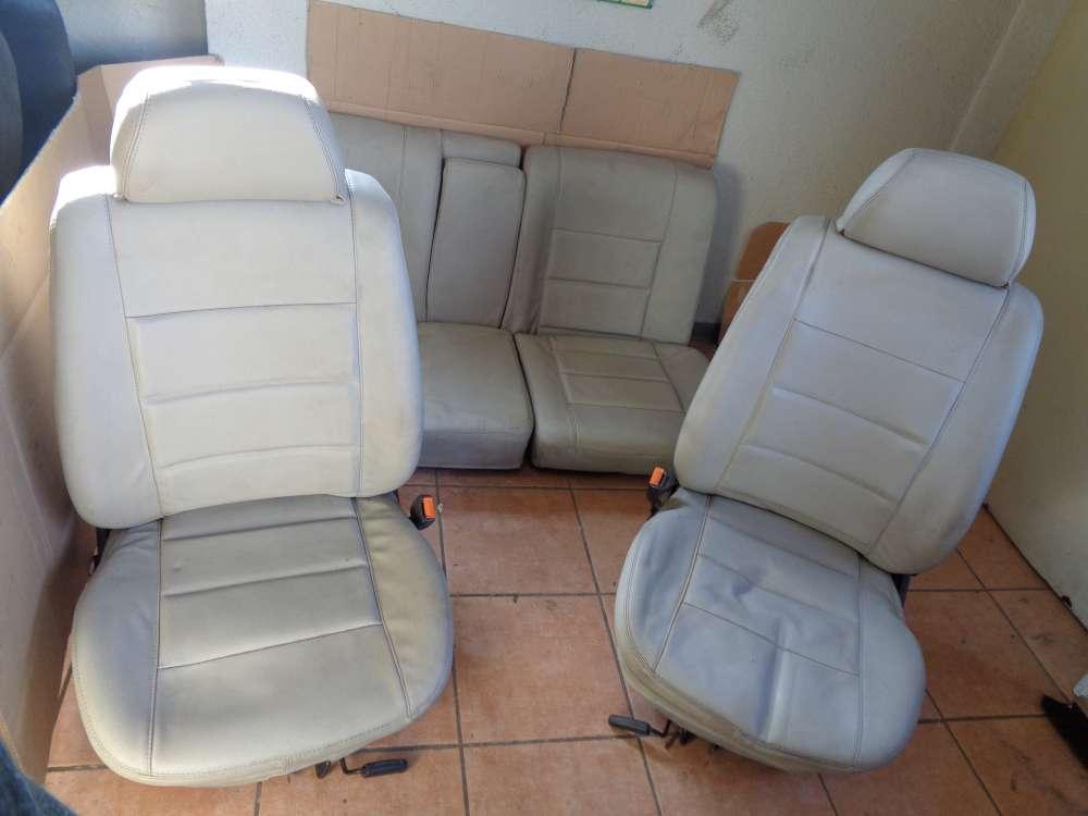 VW Golf 3 Cabrio 3Türer Bj:1995 Sitze Komplett Leder grau