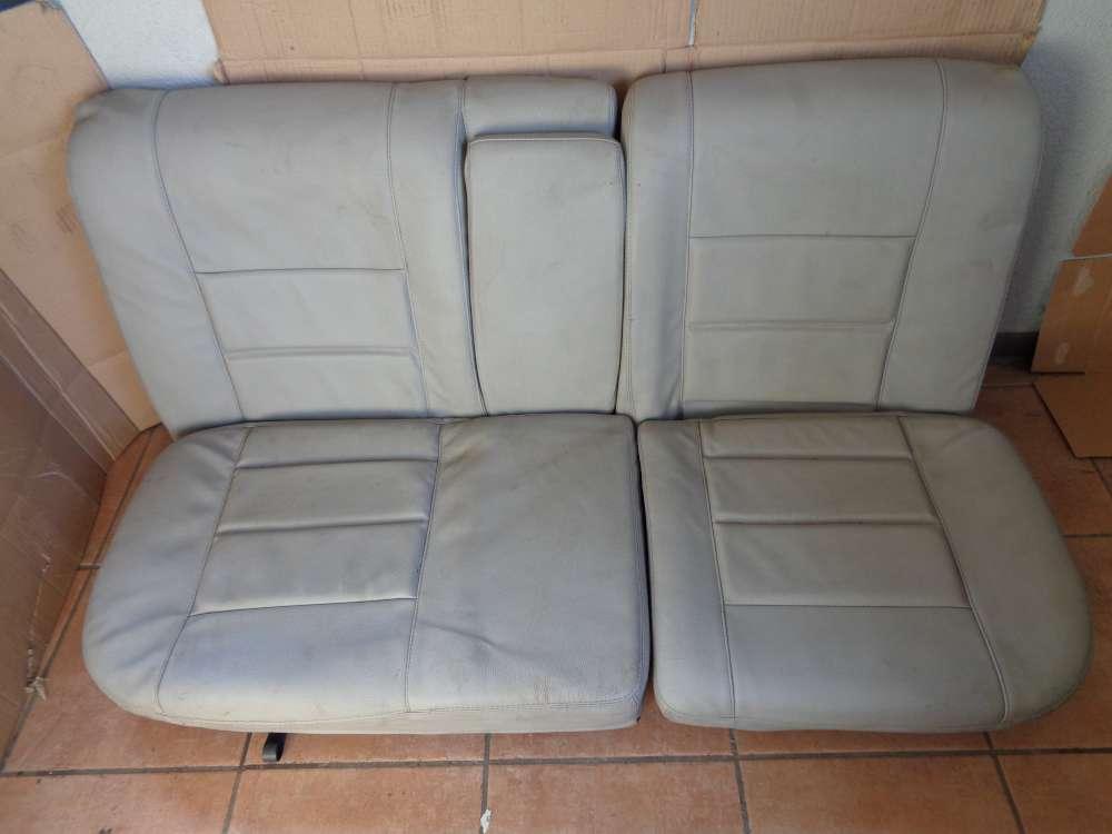 VW Golf 3 Cabrio 3Türer Bj:1995 Sitze Rücksitz Rückbank Leder grau