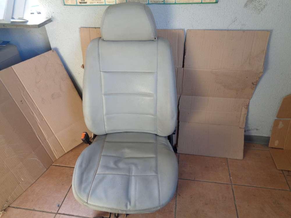 VW Golf 3 Cabrio 3Türer Bj:1995 Sitz Fahrersitz Vorne Links Leder grau