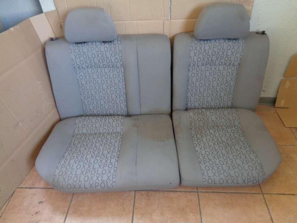 VW Polo 6N Bj:1997 Sitze Rücksitz Rückbank grau Stoff