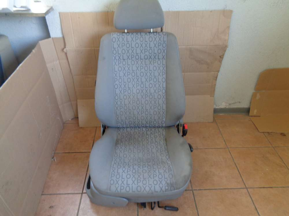 VW Polo 6N Bj:1997 Sitz Beifahrersitz Vorne Rechts grau Stoff
