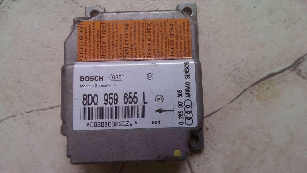 Audi A4 S4 B5 BOSCH Airbag Steuergerät Sensor 8D0959655L