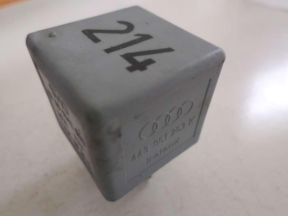 Orginal Relais Nr.214 Audi A4,443 951 253K