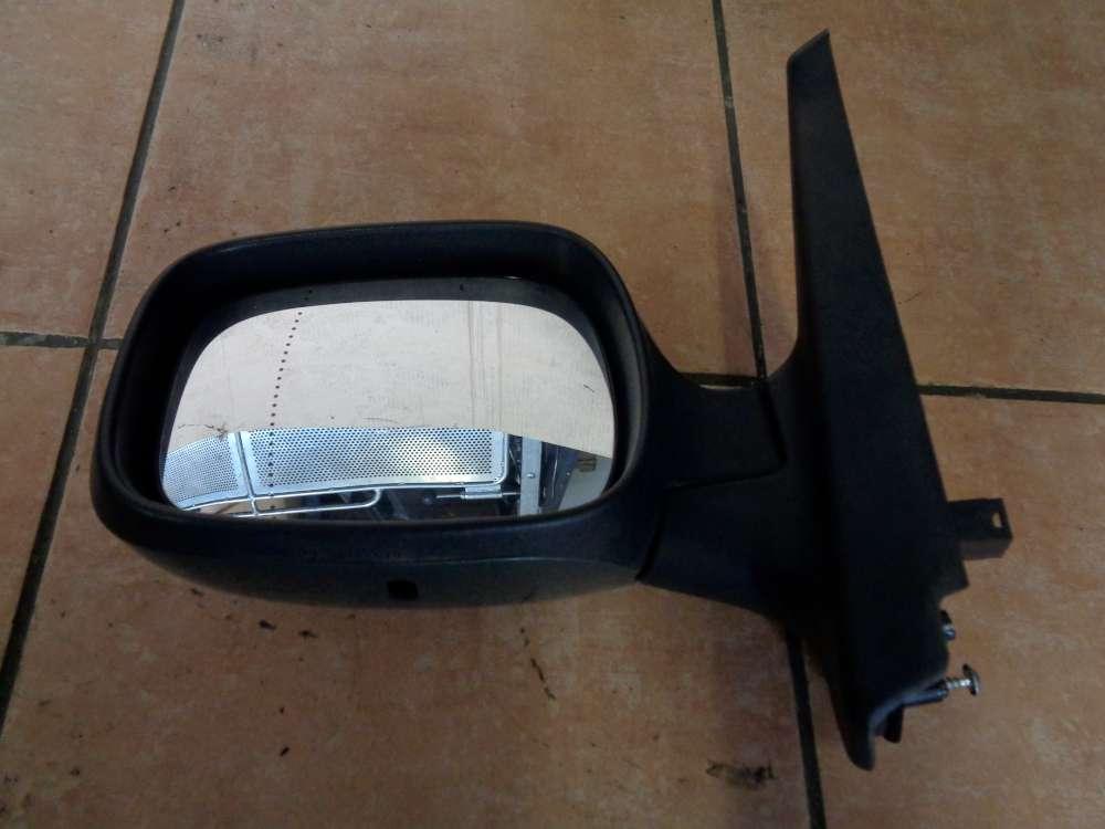 Renault Kangoo KC elek. Aussenspiegel Spiegel links Grün Farbcode: D96 / 014106