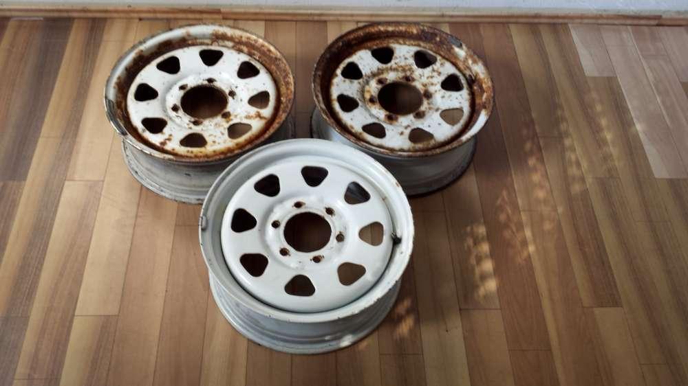 3 x Stahlfelgen für Nissan J16x6J  51391  4030037G00  6Loch