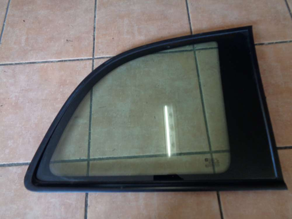 Opel Zafira A Seitenfenster Seitenscheibe Hinten Rechts